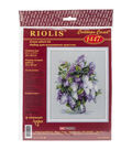 Riolis Gentle Lilac Counted Cross Stitch Kit