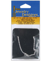 """Slimpack Silver Chain-18"""" Large Link Chain, , hi-res"""