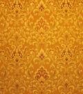 Home Decor 8\u0022x8\u0022 Fabric Swatch-Upholstery Fabric Barrow M7466 5230 Amber