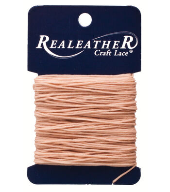Waxed Thread, Tan