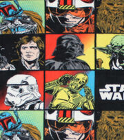 "Star Wars™ Fleece Fabric 58""-Character Block, , hi-res"