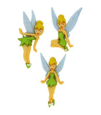 Dress It Up Licensed Embellishments- Disney® Tinkerbell