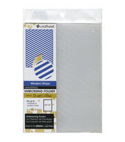 eBosser Embossing Folders Letter Size By Teresa Collins-Modern Stripe, , hi-res
