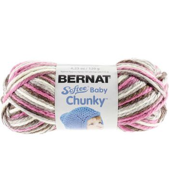 Bernat Softee Baby Chunky Ombre Yarn