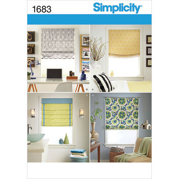 Simplicity Pattern 1683OS One Size -Simplicity Crafts Ho