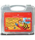 Brilliant Beeswax Crayons -24/Pkg