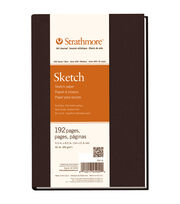 "Strathmore Sketch Book 5.5""X8.5""-60lb 192 Pages, , hi-res"