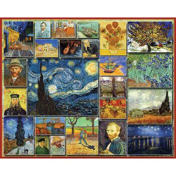 White Mountain Puzzles Jigsaw Puzzle Vincent Van Gogh