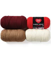 Red Heart Super Saver Jumbo Yarn, , hi-res