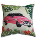 Summer Sol Square Pillow-Car