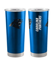 Carolina Panthers 20 oz Insulated Stainless Steel Tumbler, , hi-res