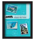 Collector\u0027s Museum Shadow Box Frame 8\u0027\u0027x10\u0027\u0027-Omega Black