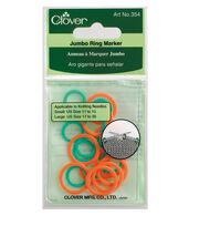 Clover Jumbo Stitch Marker, , hi-res