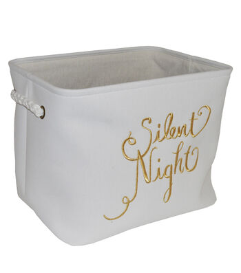 Maker's Holiday Large Soft Bin-Silent Night