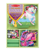 Melissa & Doug Magnetic Dress Up Kit-My Horse Clover, , hi-res