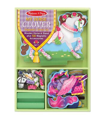 Melissa & Doug Magnetic Dress Up Kit-My Horse Clover