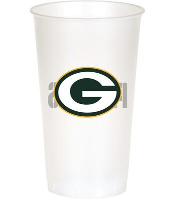 Green Bay Packers Plastic Cups