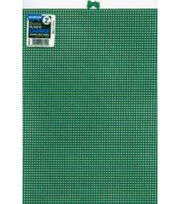 "Plastic Canvas 7 Count 10""X13""-Green, , hi-res"