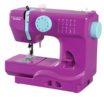 Janome Derby Portable Sewing Machine- Purple Thunder