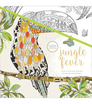 Kaisercraft KaiserColour Perfect Bound Coloring Book-Jungle Fever, , hi-res