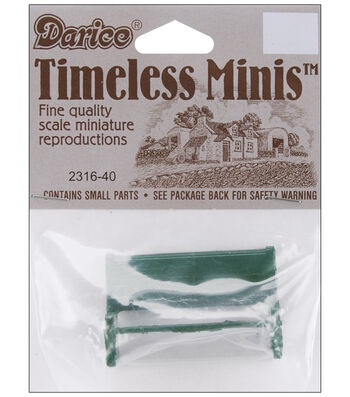 Darice Timeless Miniatures-Bench