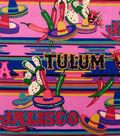 Alexander Henry Cotton Fabric 44\u0022-Tulum Hot Pink