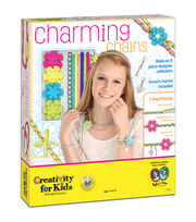 Creativity For Kids Charming Chains Accessory Kit, , hi-res