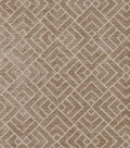 Home Decor 8\u0022x8\u0022 Swatch Fabric-IMAN Home Tambal Lattice Mink