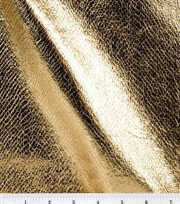 Foil Pleather Fabric