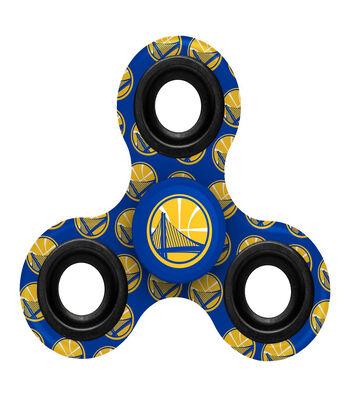 Golden State Warriors Diztracto Spinnerz-Three Way Fidget Spinner