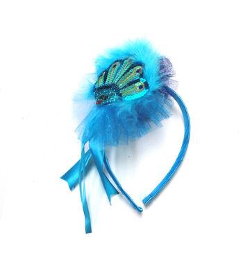 Maker's Halloween Child Headband-Peacock