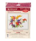 RIOLIS Counted Cross Stitch Kit 15.75\u0022X11.75\u0022-Freesia