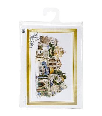 "Jerusalem On Aida Counted Cross Stitch Kit-31""X19.75"" 18 Count"