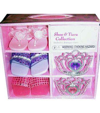 Glam Girl Shoe & Tiara Set