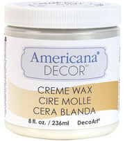 Americana Decor Creme Wax 8oz-Clear, , hi-res