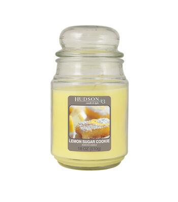 Hudson 43™ Candle & Light Collection 18oz Value Jar Lemon  Sugar Cookie