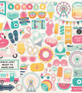 Summer Dreams Cardstock Stickers 12\u0022X12\u0022-Elements