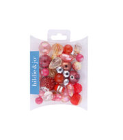 hildie & jo™ Mix Beads-Red, , hi-res