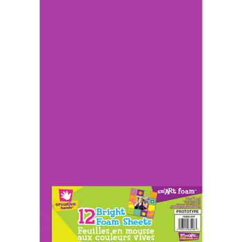 Fibre Craft Foam Sheets Brights