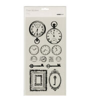 Kaisercraft Antiques Clear Stickers, , hi-res