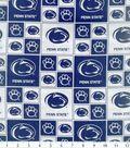 Penn State University Nittany Lions Cotton Fabric 43\u0027\u0027-Block