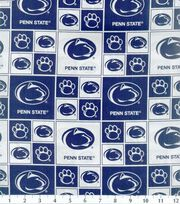 "Penn State University Nittany Lions Cotton Fabric 43""-Block, , hi-res"