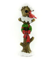Maker's Holiday Christmas Littles 5'' Wood Birdhouse, , hi-res