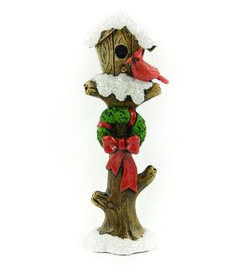 Maker's Holiday Christmas Littles 5'' Wood Birdhouse