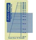 Fabric Gauge-1/Pkg