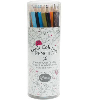 Adult Coloring Pencils 36pk-Adult