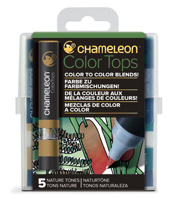 Chameleon 5 pk Color Tops Set-Nature Tones