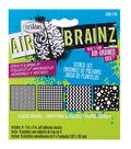 AirBrainz Airbrush Stencils 4/Pkg-Classic Designs 4\u0022X4\u0022