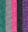 Fat Quarter Bundle Cotton Fabric 18\u0027\u0027-Blender Floral Bursts