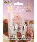Darice® 2 Pk Candle Lamp Collection Flickering Welcome Bulbs